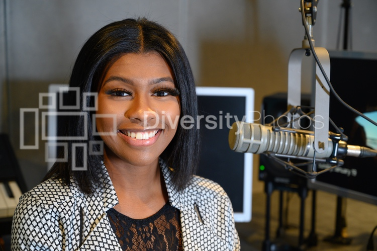 Black Woman Podcast and Radio Host