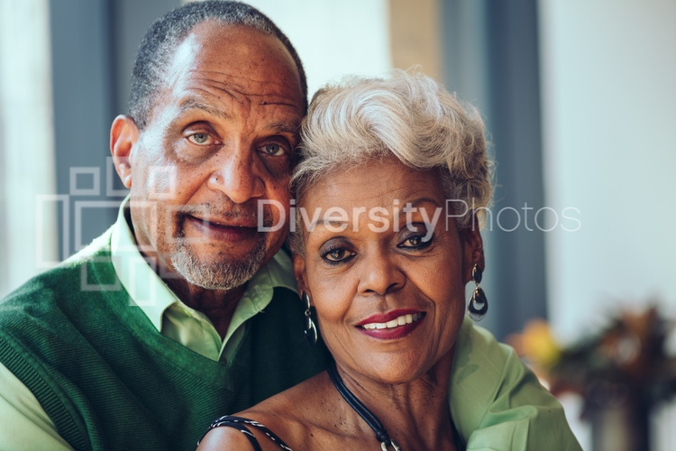 Black Senior Citizen Couple