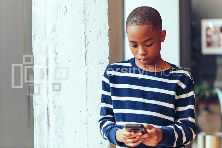 Portrait of Young Black Kid
