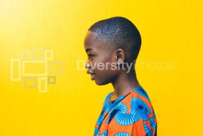 Young boy in African Wear