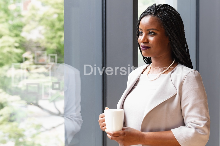 Portrait of Profession Black woman