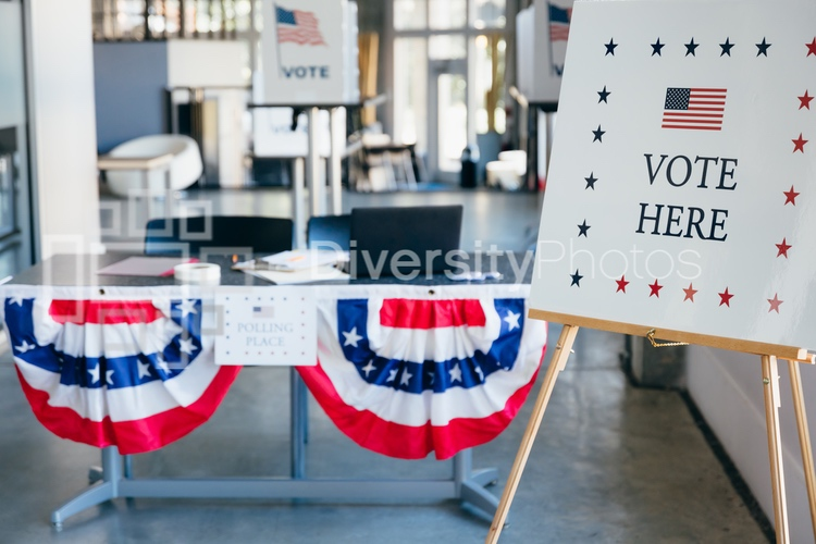 US Elections Polling Place