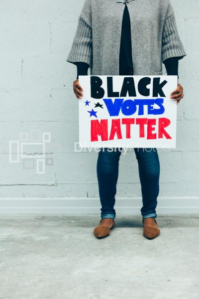 Rock the black vote - black votes matter