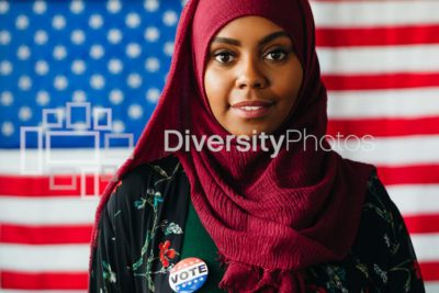 Muslim American - Rock the black vote - black votes matter
